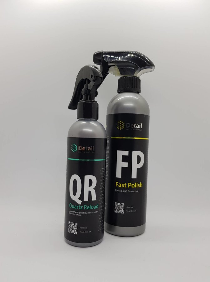 QR (Hidrofobo atnaujintojas) + FP (greitasis polirolis)