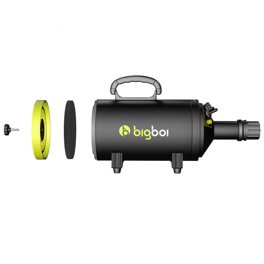 Bekontaktis automobilio džiovintuvas BIGBOI Blow Mini