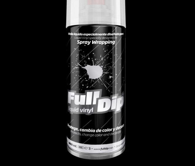 Juodi Matiniai Dažai BLACK MATTE (Full Dip® 400ml)