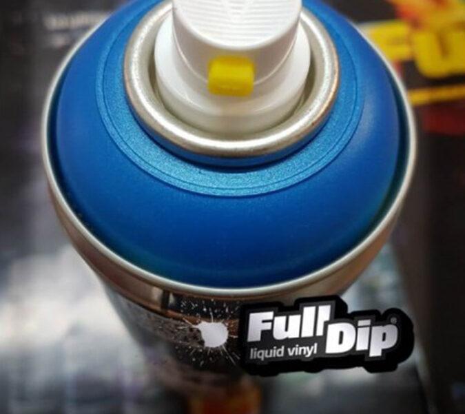 Mėlyni Metališki Dažai BLUE METALLIC (Full Dip® 400ml)