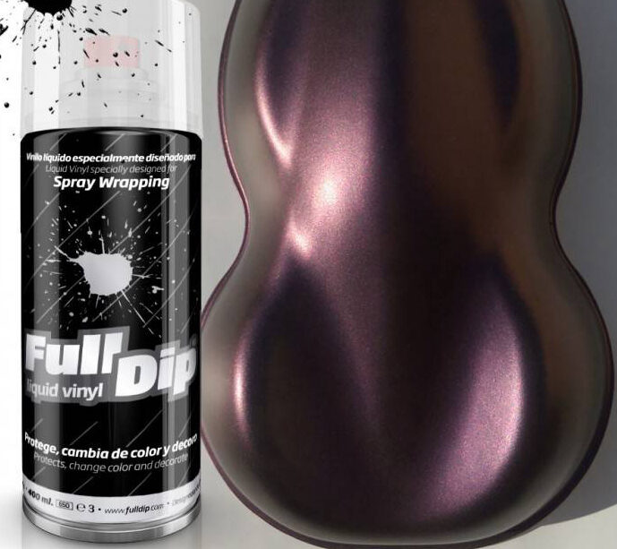 Violetiniai Perlo Dažai DEEP PURPLE CANDY PEARL (FullDip 400ml)