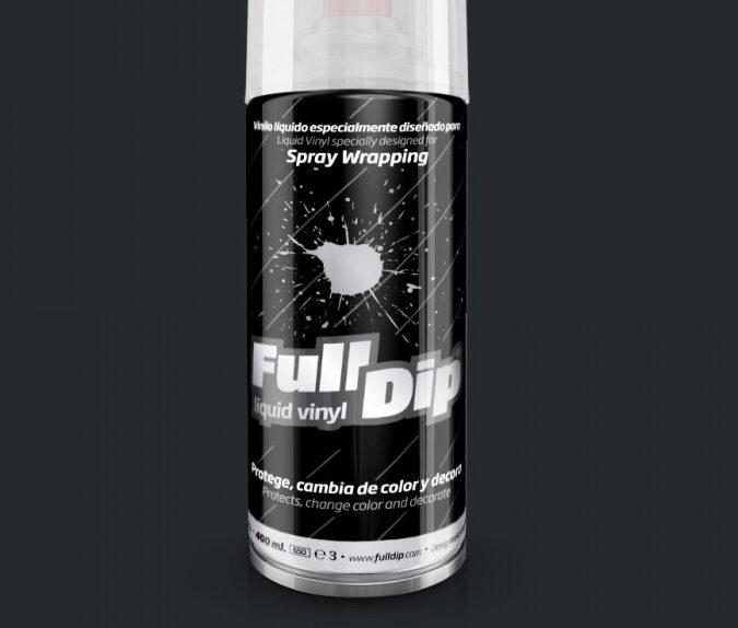 Tamsiai Pilki Matiniai Dažai GUNMETAL GREY (Full Dip® 400ml)