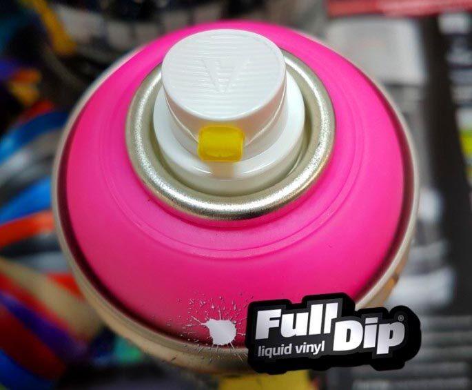 Neoniniai Rožiniai Dažai BLAZE PINK (Full Dip® 400ml)