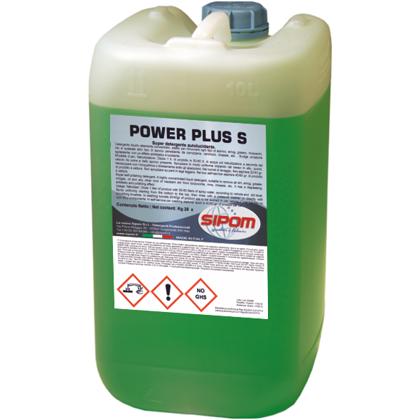 Aukščiausios kokybės šarminis ploviklis POWER PLUS F SIPOM 5kg