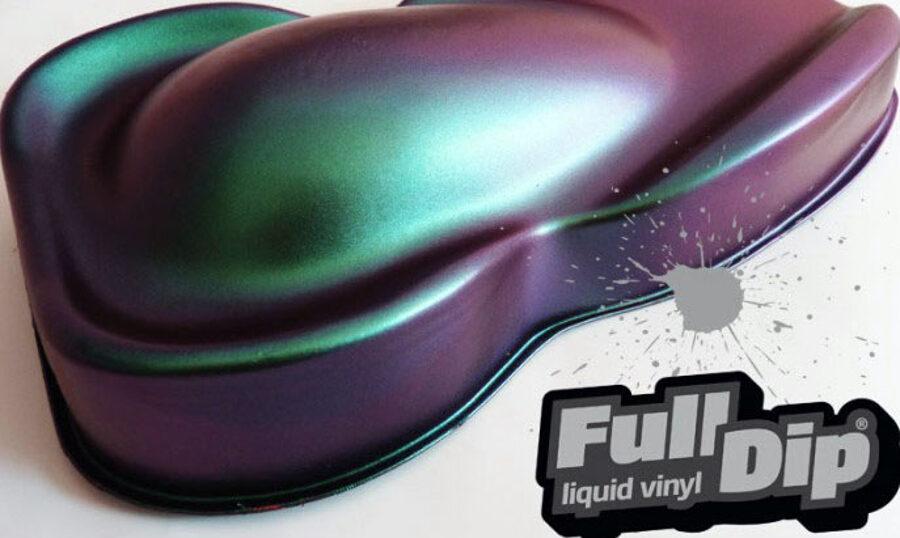 Chameleono Žali Violetiniai Dažai ABSOLUTE CHAMELEON (Full Dip® 400ml)