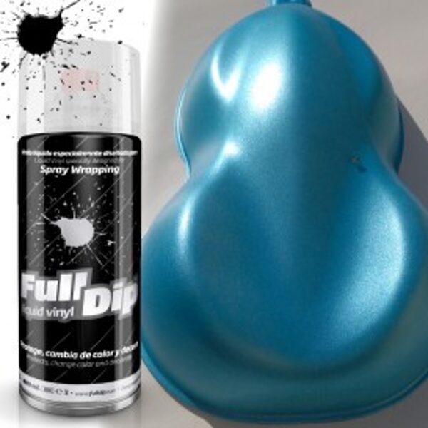 Šviesiai Mėlyni Perlo Dažai BLUE SWEET CANDY PEARL (FullDip 400ml)