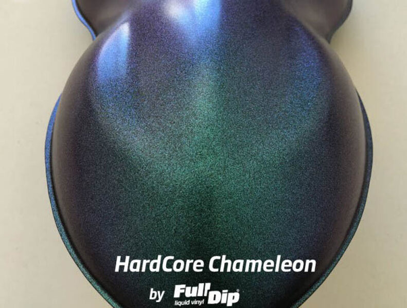 Chameleono Žali Mėlyni Violetiniai Dažai HARDCORE CHAMELEON (Full Dip® 400ml)
