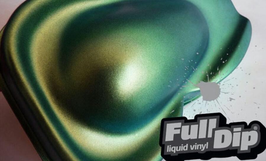 Chameleono Mėlyni Žali Auksiniai Dažai ICE BLUE CHAMELEON (Full Dip® 400ml)