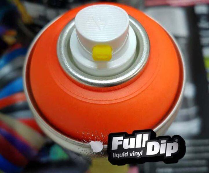 Neoniniai Oranžiniai Dažai BLAZE ORANGE (Full Dip® 400ml)
