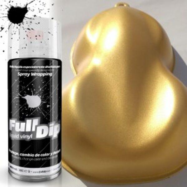 Auksinio Soliario Perlo Dažai SOLAR GOLD METALLIC PEARL (FullDip 400ml)