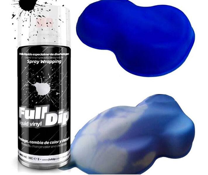 Termo UV Mėlyni-Balti Dažai THERMO BLUE-WHITE (FullDip 400ml)