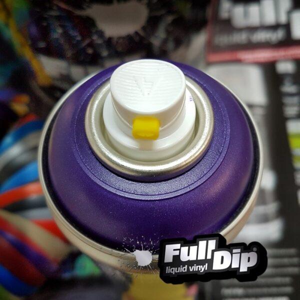 Violetiniai Metališki Dažai PURPLE METALLIC (Full Dip® 400ml)