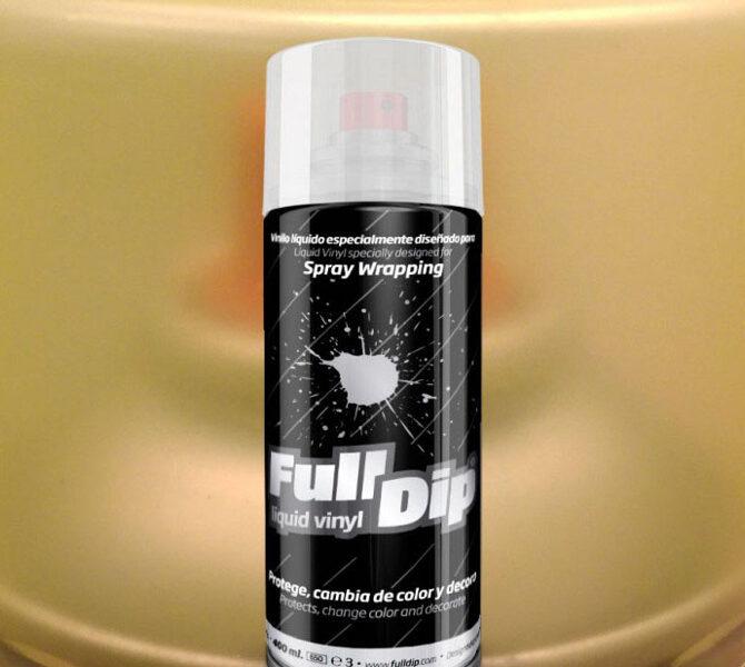 Geltoni Matiniai Žibintų Tamsinimo Dažai YELLOW SMOKE (Full Dip® 400ml)