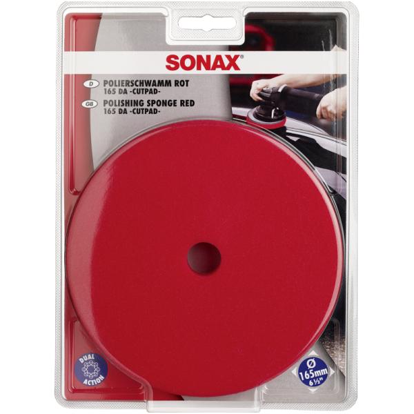 Kietas poliravimo padas orbitinei mašinėlei 165mm SONAX