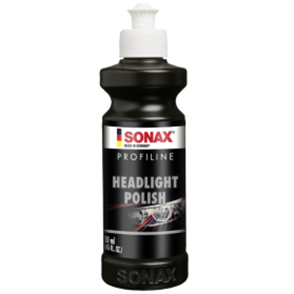 Profesionalus automobilio žibintų polirolis SONAX 250 ml
