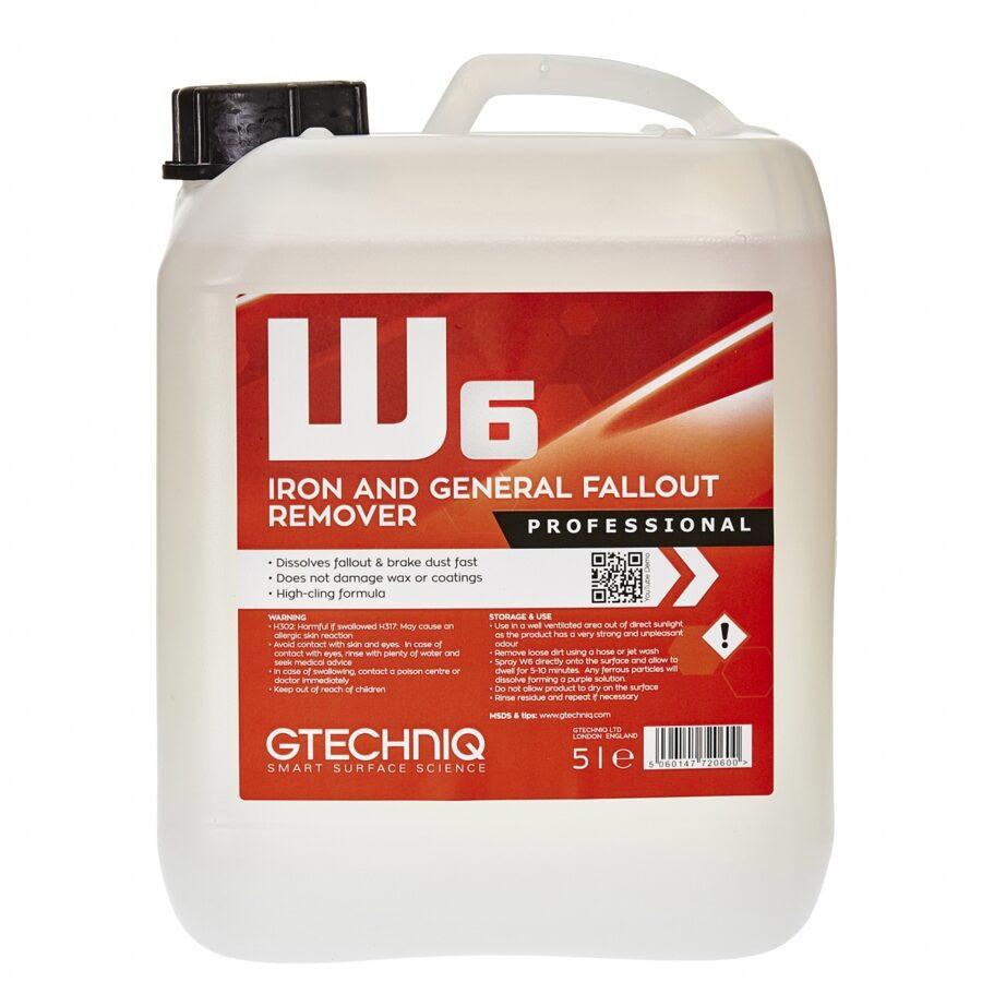 Ratlankių ir metalo dulkių valiklis W6 Gtechniq
